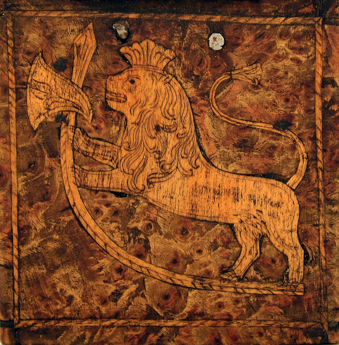 Løve med øks