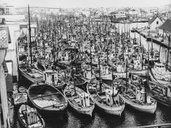 Smedasundet sett mot syd, ca. 1951.