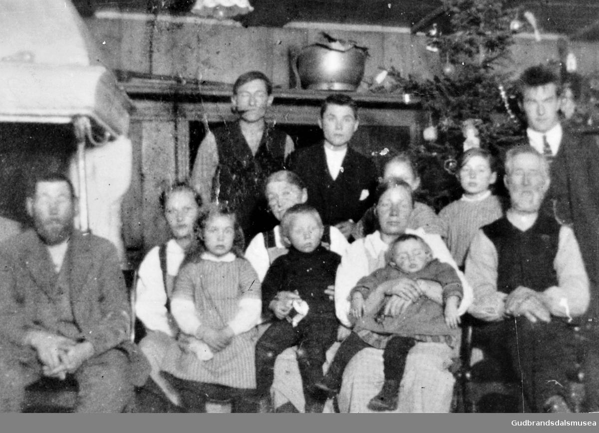 Julekveld på sygard Gjeilo 1924