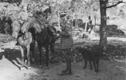 Generalmajor Ahlin blev fobef över det nya Norrtälje fo (Fo