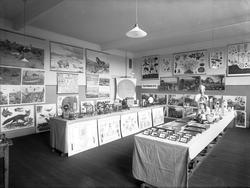 Utställning (av skolmaterial?) 1916.