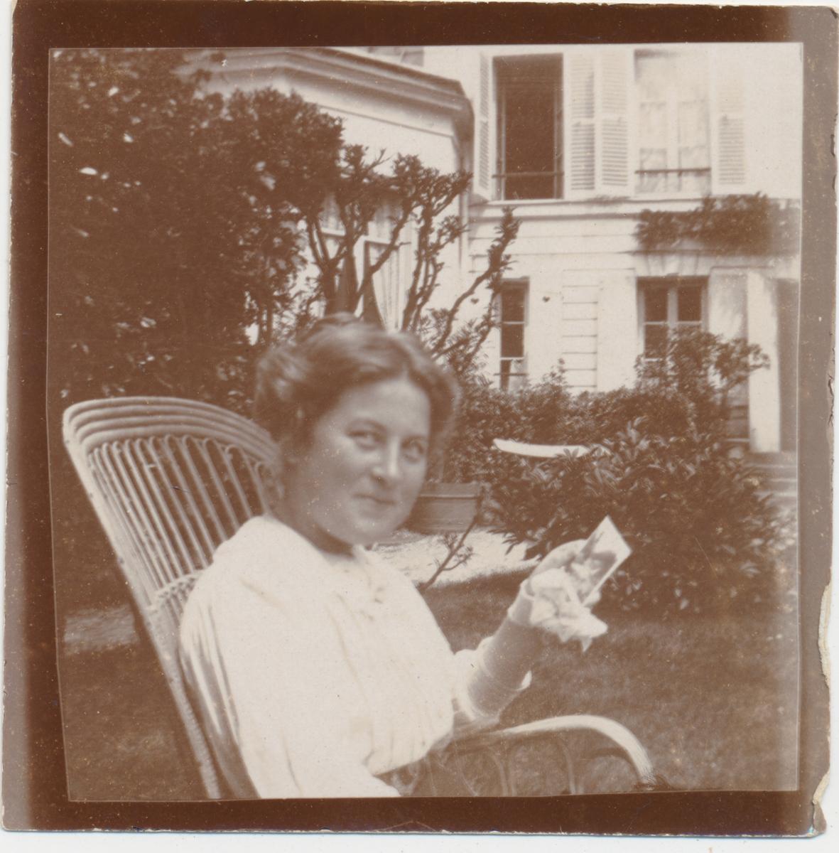 Privatfoto av en kvinne.