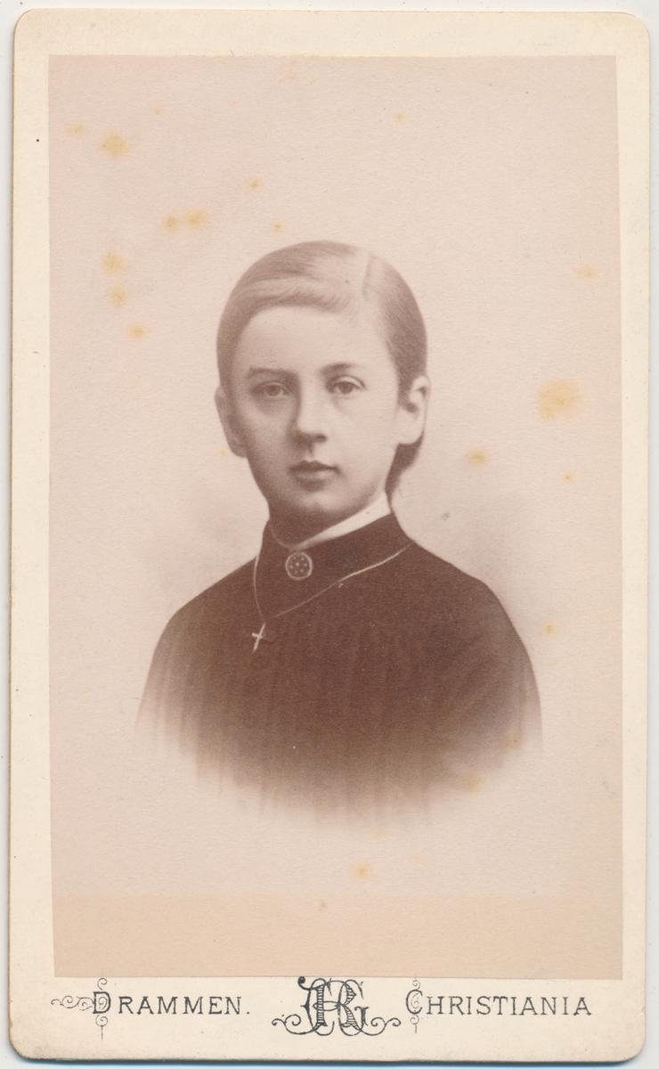 Portrett av ung pike, ukjent