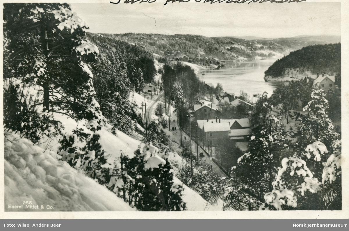 Østfoldbanen i nærheten av Nordstrand