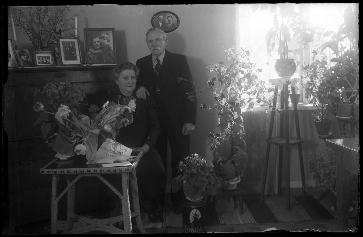 Gottfrid Klein med hustrun
