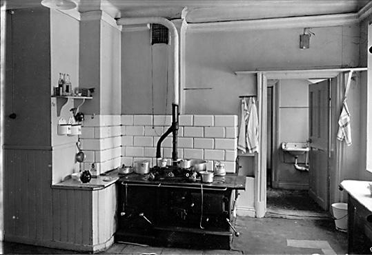 Kök i bostad på Hässlö gård i Västerås.