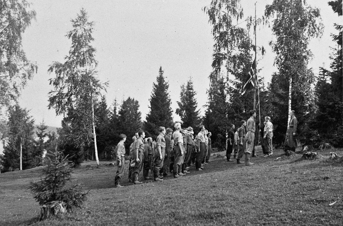 Arbeidstjenesten på Måe på Østsiden i Eidsvoll.
