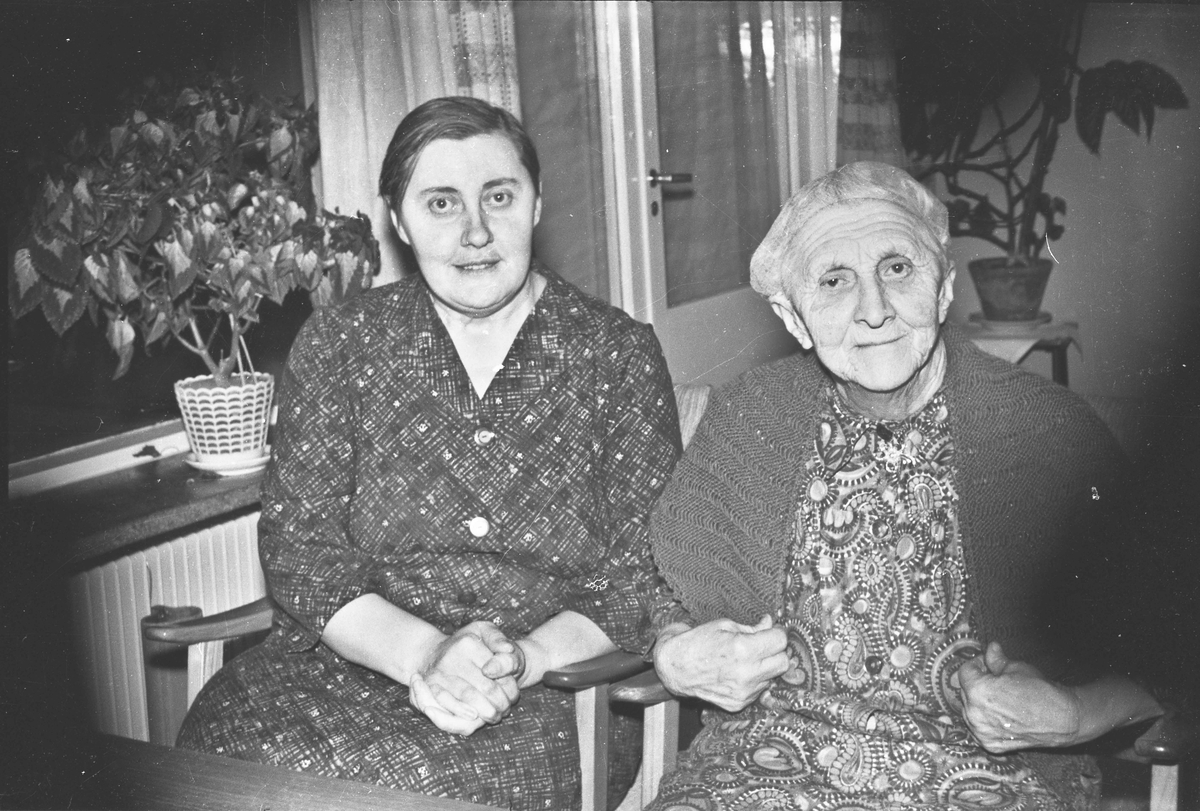 Aldersheimen vinteren 1964-65.