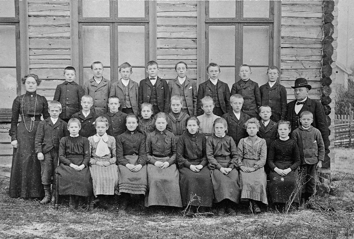 Langset skole 1904.