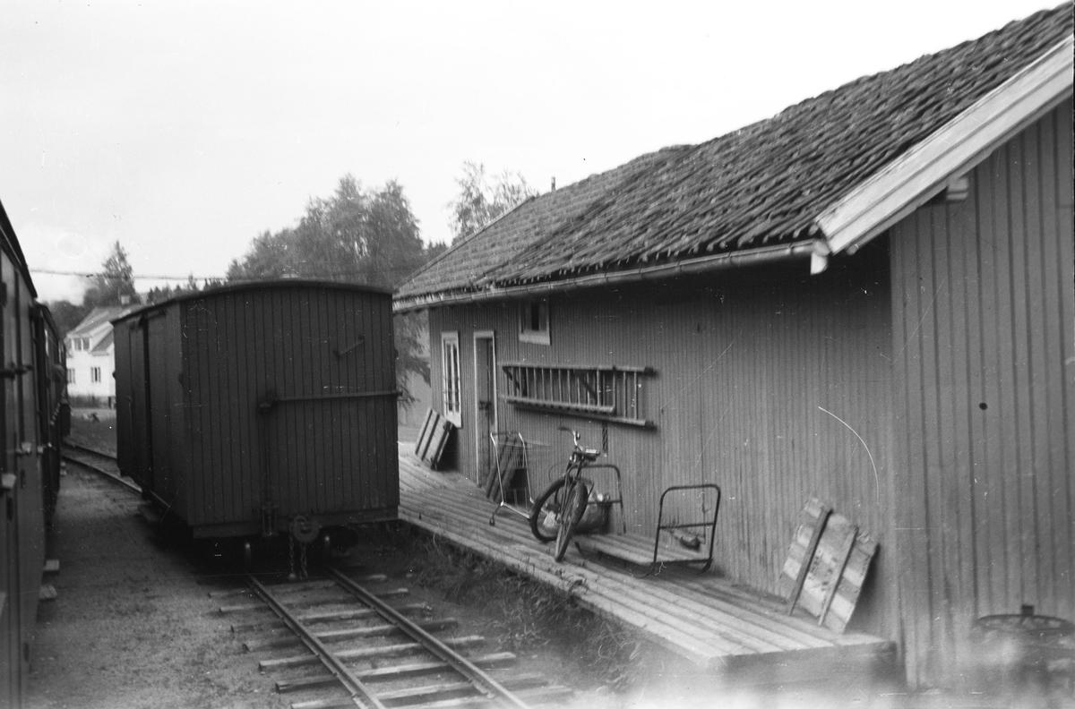 Aurskog stasjon, godshuset.