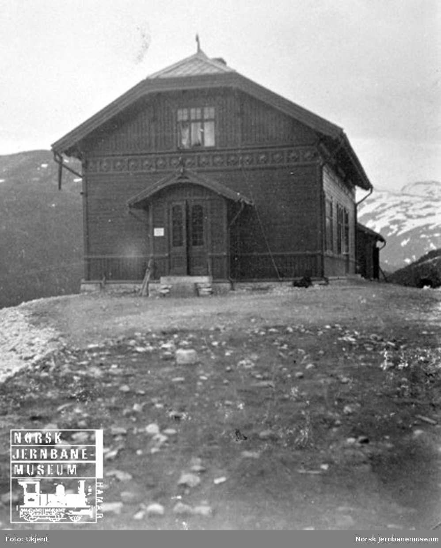 Mjølfjell stasjonsbygning