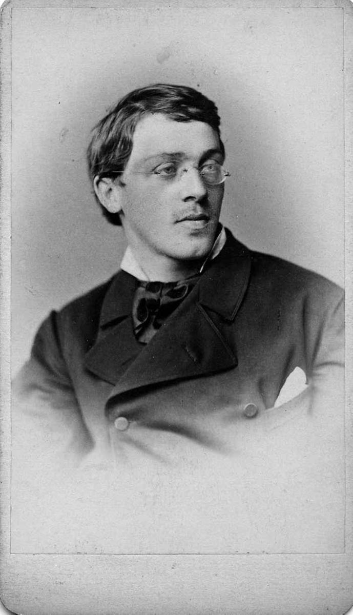 Portrett av Eilif Peterssen, 1876.
