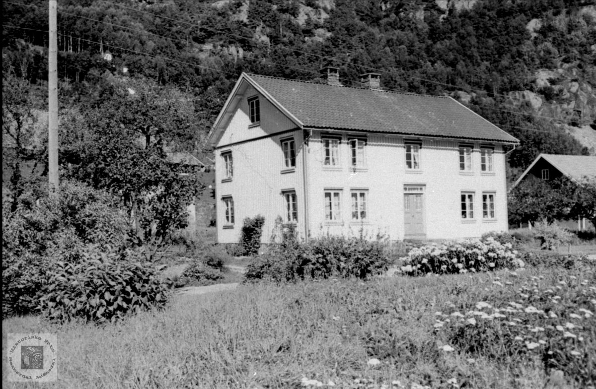 Kyllandsbruket, Usland i Øyslebø.