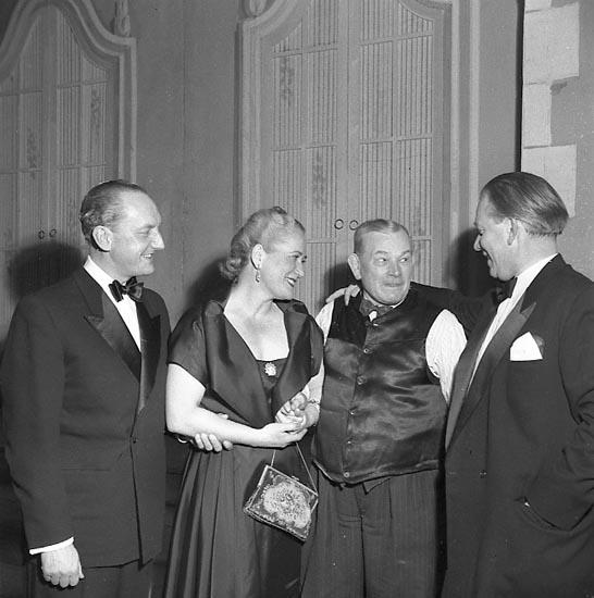 "Enligt notering: ""Operetten Maritza U-a Teater Jan 1951""."