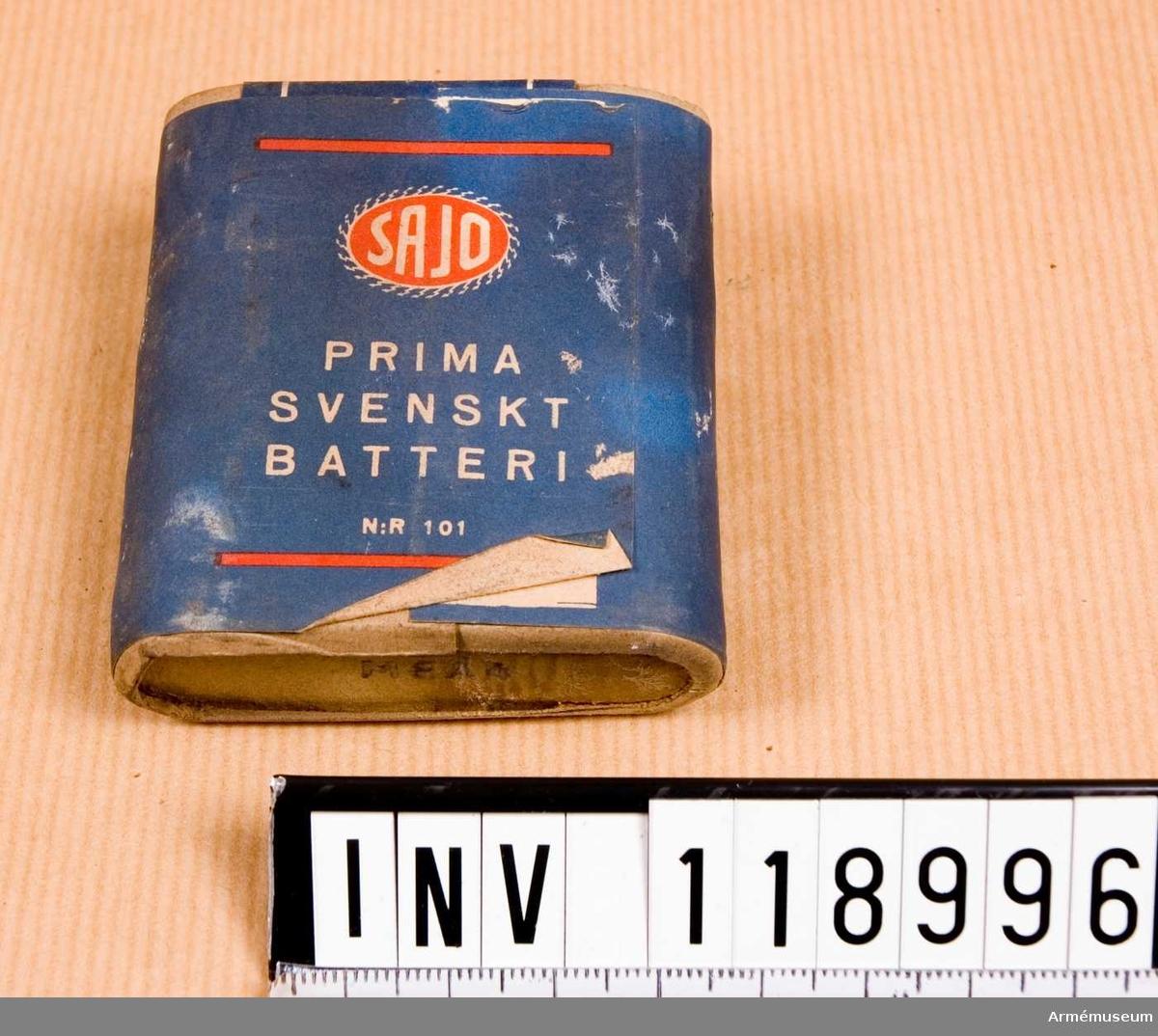 Ficklampsbatteri