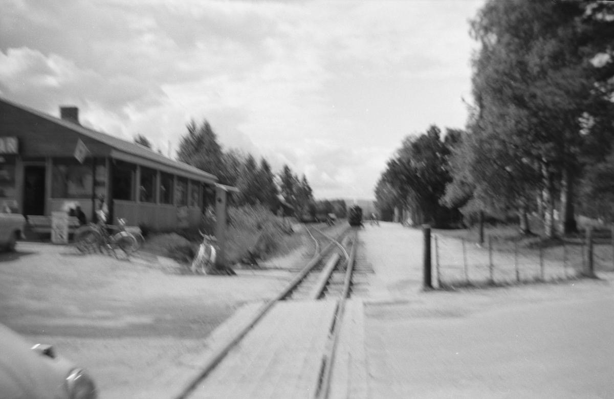 Ved Evje stasjon på Setesdalsbanen