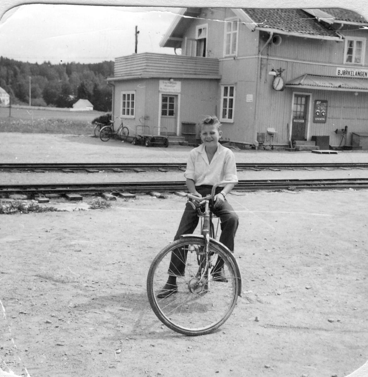 Fra Bjørkelangen stasjon