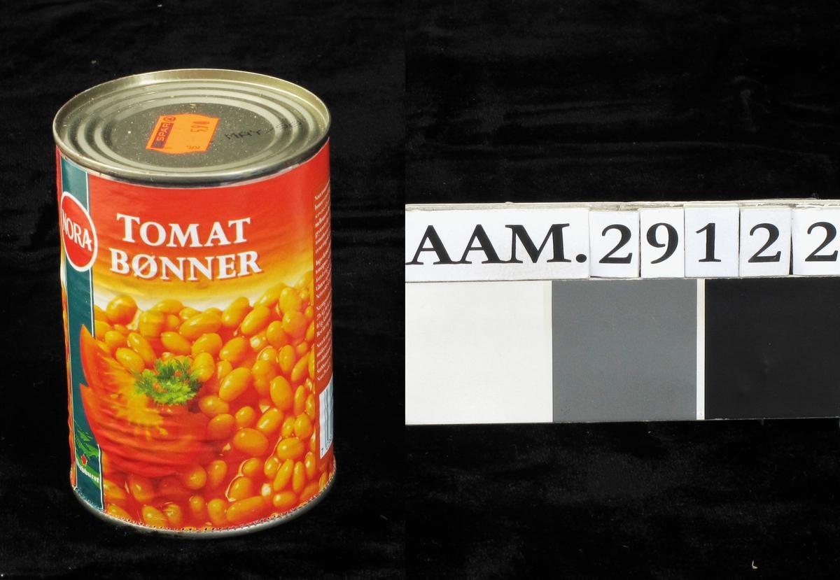 Tomatbønner, fargefotografi