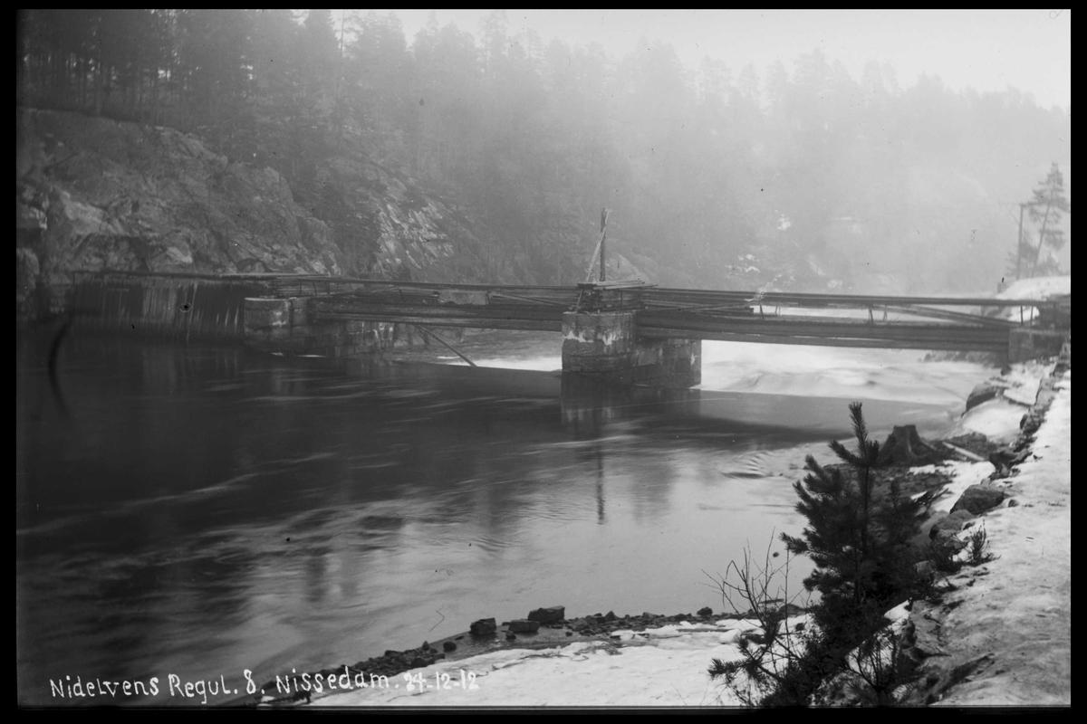 Arendal Fossekompani i begynnelsen av 1900-tallet CD merket 0474, Bilde: 53 Sted: Nisser