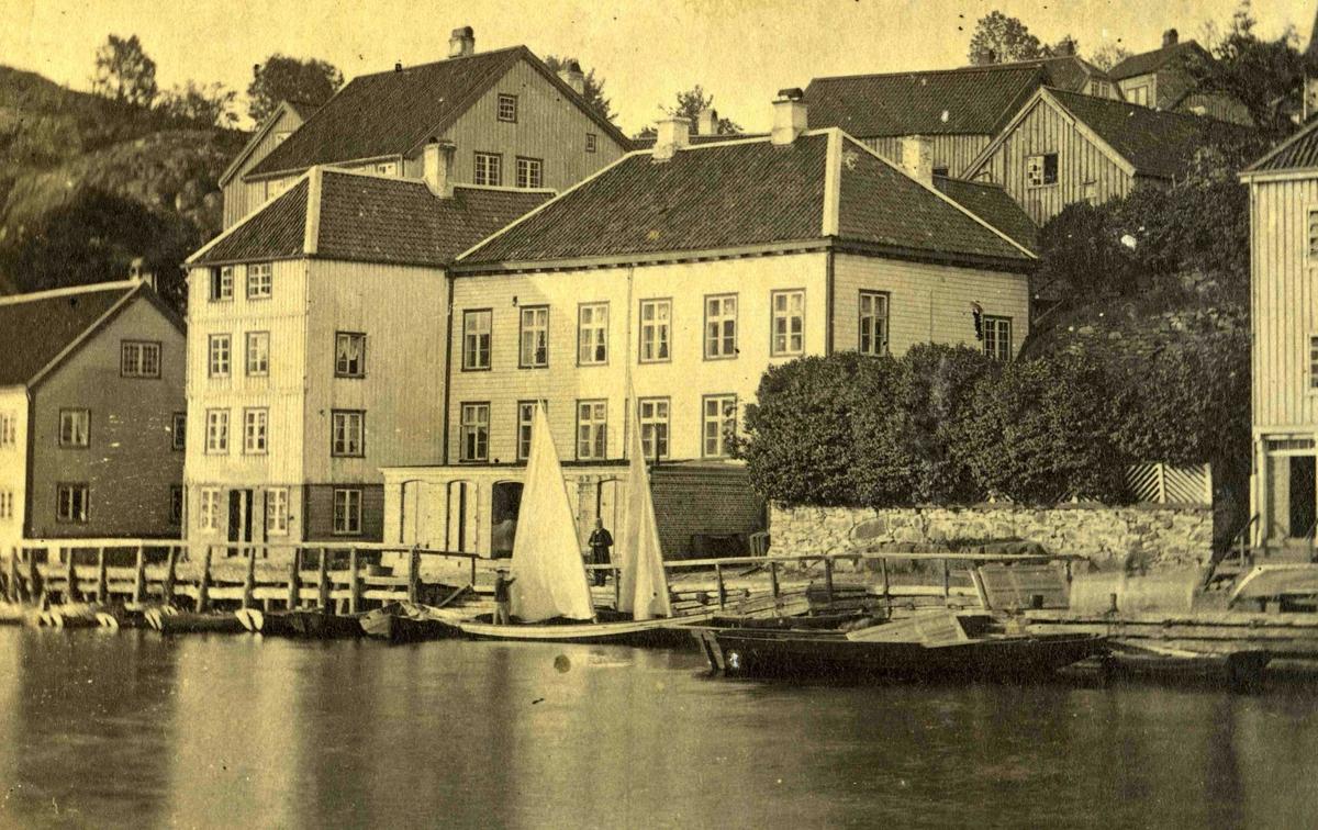 Arendal og omegn - Fra John Ditlef Fürst fotoalbum - Langbryggen  - AAks 44 - 4 - 7 - Bilde nummer 28