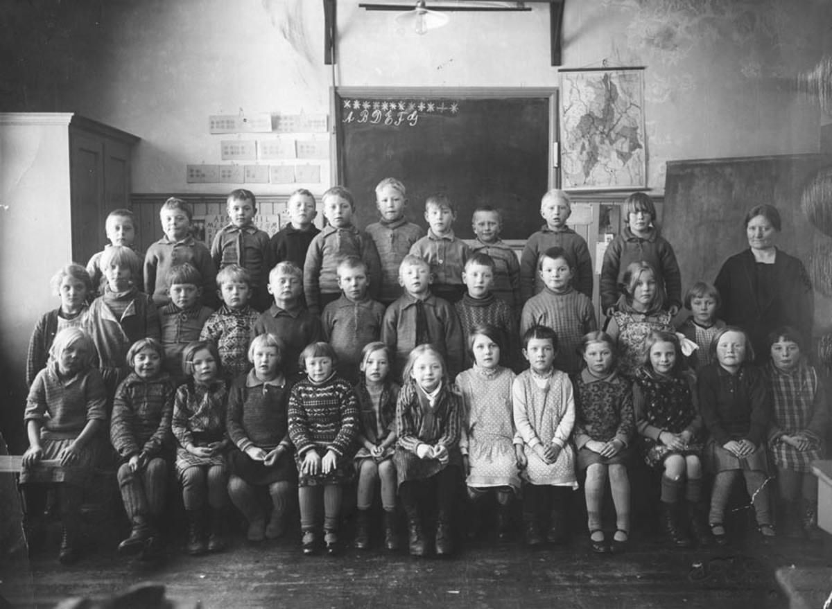 1. klassebilde Kontra Skole.