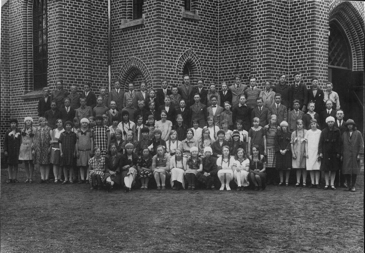 Konfirmasjonskullet 1928, Ås kirke