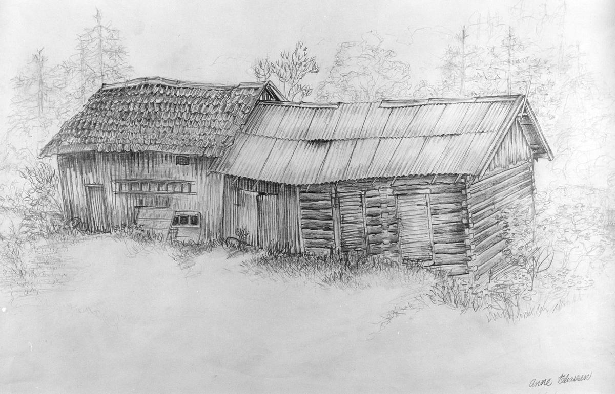 Uthusene på Durendal  (tegning)