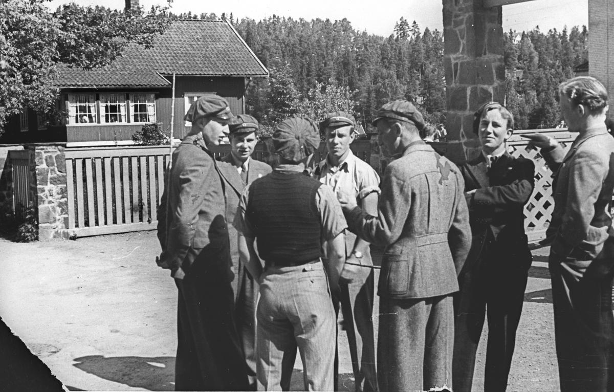 Gruppebilde av Stabekkrussen.