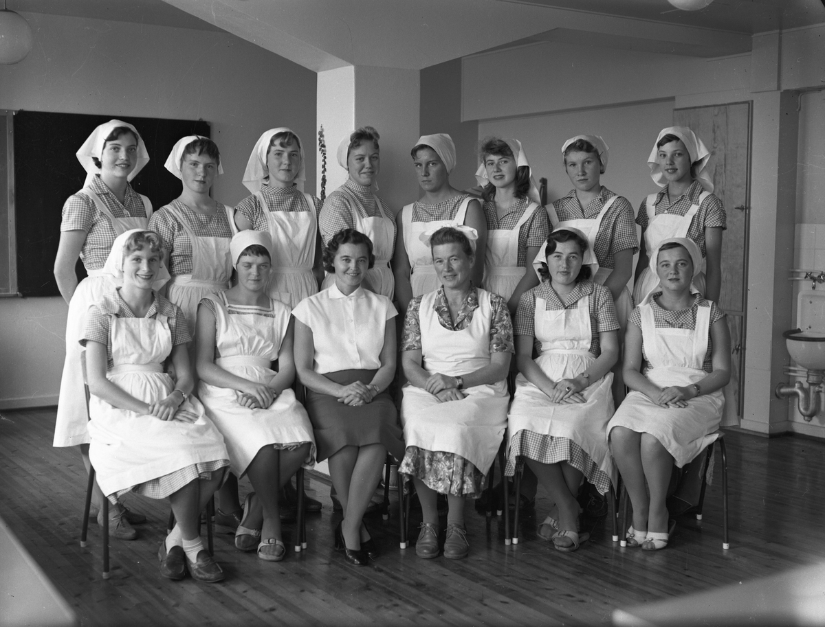 Husmorskolen høsten 1959.