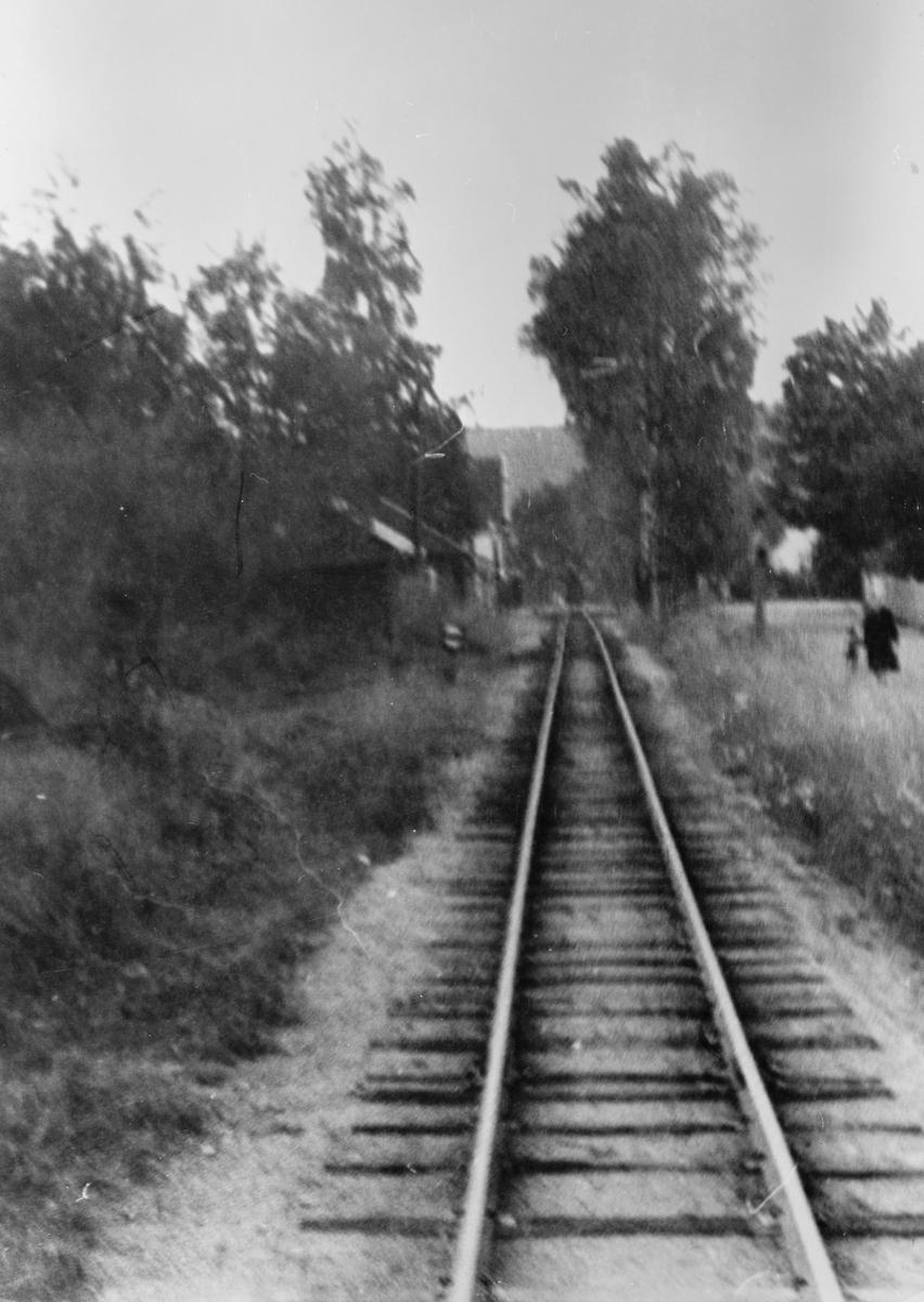Innkjørtogvei Sørumsand stasjon.