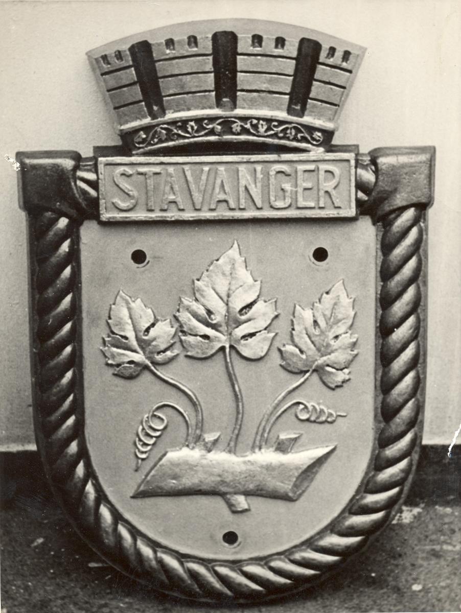 "Crest fra jageren ""Stavanger""."