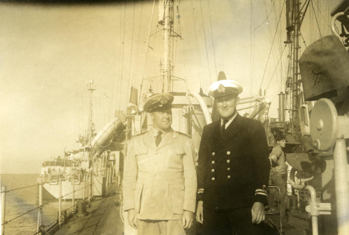 Album Ubåtjager King Haakon VII 1942-1946